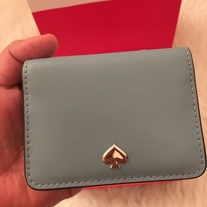 💯✅ Authentic Kate Spade card holder mini wallet